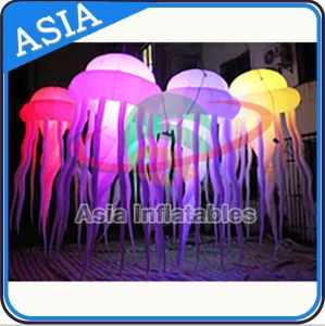Advertising Equipment LED Lights Inflatable Decorating Jellyfish Balloon Inflatable Jellyfish for Party pictures & photos