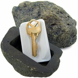 Stone Key Box Hidden Key Box Resin Handicraft pictures & photos