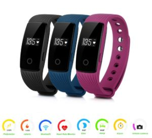 Heart Rate Monitor Bluetooth Smart Wristband ID107 Smart Band pictures & photos