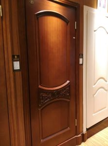 2017 Popular Design Wood Door for Middle East (DS-6021) pictures & photos