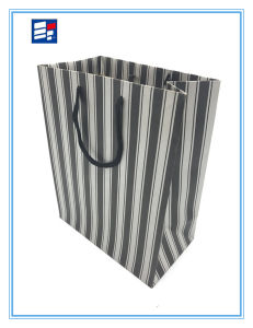 Comstom Fashion Handle Bag with Corrugated Paper pictures & photos