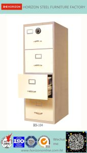 Steel Safe Cabinet with Full Width Recess Handle for F4 Foolscap Size Hanging File Storage/Metal Cabinet for France Market pictures & photos