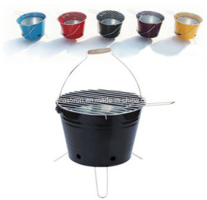 Bucket BBQ Grill, Perfect Painting, High Resolution Finish pictures & photos