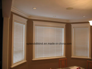 Wooden Windows Blinds Basswood Quality Windows Blinds pictures & photos