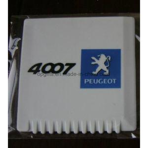 Printing Logo Plastic Auto Promotion Mini Ice Scraper pictures & photos