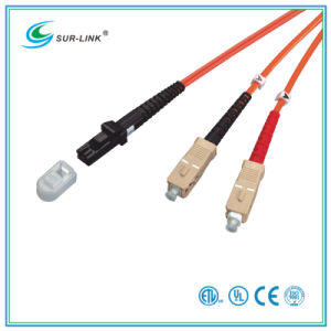 MTRJ/PC-SC/PC mm 50/125 Duplex 2m Fo Patch Cord pictures & photos