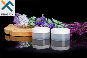 Skin Care Cream Use and Acrylic Plastic Type Small Cosmetic Pet Jars 30g pictures & photos