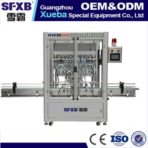Servo Driven Bottle Filling Machine Equipment for Liquid Sauce Paste pictures & photos