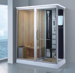 1750mm Steam Combined Sauna with Shower (AT-D8863) pictures & photos