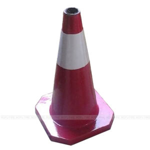 500mm-700mm Rubber Road Cone pictures & photos
