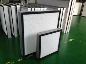 High Efficiency Mini Pleated HEPA Filter, Fiberglass Air Filter for 0.3microns pictures & photos