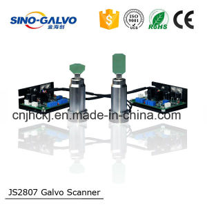 Ce Approved High Accurate Analog Js2807 Galvo Head for Barcode Marking pictures & photos