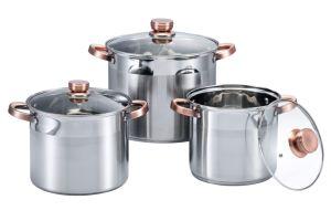 6 PCS High Pot Cookware Set pictures & photos