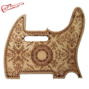 Custom Parts Carved Tl Wood Pickguard Guitar pictures & photos