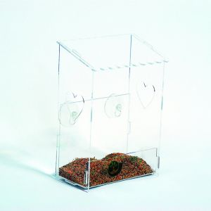 Clear Creative Bird Animal Nest House Bird Feeder pictures & photos