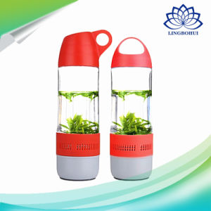 Water Bottle Outdoor Portable Wilreless Speaker with Compass pictures & photos