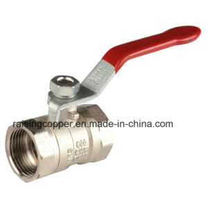 Brass Ball Valve with Iron Handle for Italy Market pictures & photos