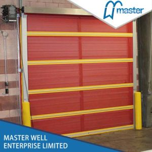 Remote Control Rapid Roller Shutter/1.0mm Thickness PVC Fast Roller Shutter Door pictures & photos