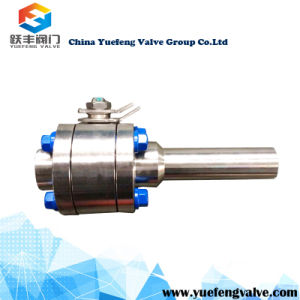 Flange Xnpt Floating Ball Valve pictures & photos