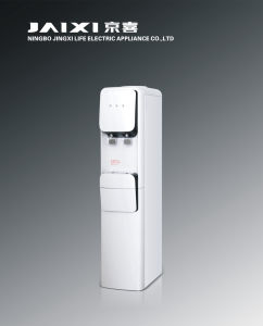 Hot and Cold Standing Water Dispenser with Compressor and Refrigerator