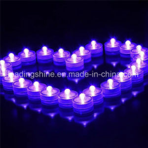Cr2032 Flower Shaped Submersible Candle Tea Light pictures & photos
