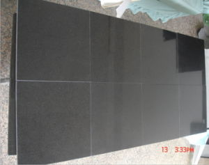 Absolute Black Granite Slabs for Flooring/Countertop/Wall Tile/Vanity Tile pictures & photos