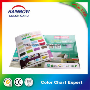 Cmyk Full Color Customized Folded Glossy Paint Brochure pictures & photos