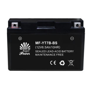 VRLA Motorcycle Battery 12V 7ah with CE UL Certificate Called MF-YT7B-BS pictures & photos