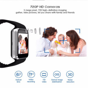 Qw08 Bluetooth Smartwatch 3G SIM WiFi GPS Sports Smart Watch pictures & photos