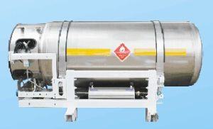 Lorry LNG Cryogenic Tank Cryogenic Cylinder (450L) pictures & photos