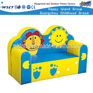 Kids Furniture Leather Double Sofa Chair for Sale (HF-09808) pictures & photos