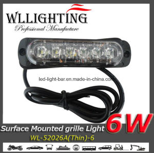 6 W Thin Warning Grille Surface Mount LEDs Light pictures & photos