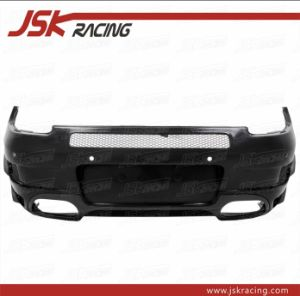 Techart Style Half Carbon Fiber Rear Bumper for 2005-2008 Porsche Carrera 911