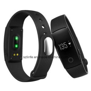 Top Selling ID107 Smart Movement Healthy Bracelet Tracker Waterproof Bluetooth 4.0 Smart Watch Bracelet pictures & photos