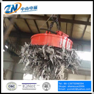 Steel Scrap Lifting Magnet for Crane Installation with Td-75% 1000kg Lifting Capacity MW5-110L/1-75 pictures & photos