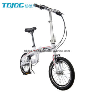 Weekend Outdoor Date Folding Bike 20′′ Mini Bicycle for Ladies pictures & photos