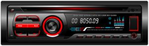 Single DIN Fixed Panel Car FM Radio 604 pictures & photos