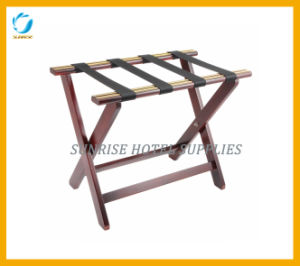 Heavy-Duty Solid Wood Luggage Rack pictures & photos