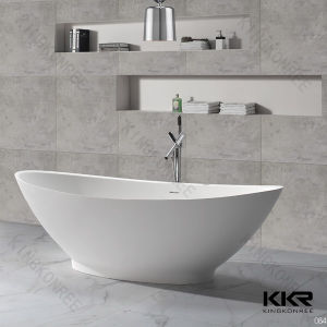 Modern Stone Hot Design Solid Surface Bathtub pictures & photos