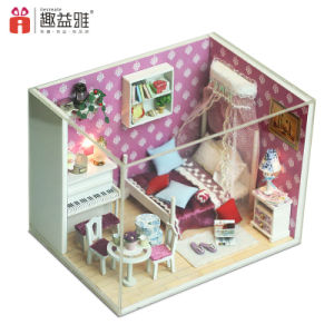 Wholesale with Light Miniature Doll House pictures & photos