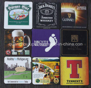 OEM Cork Wood Eco-Friendly Absorbent Coaster Coaster Cup Mat pictures & photos