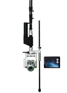 Wireless Manhole Pipe Inspection Pole Camera