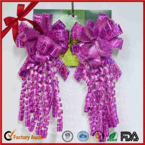 Star Bow Gift Decoration and Curling Ribbon Bow for Wedding pictures & photos