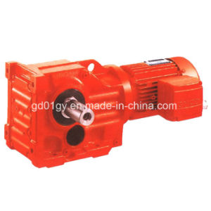 Gk Series Right Angle Helical Gear Motor for Screw Conveyors pictures & photos