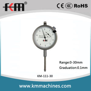 Precision Dial Indicator Gauge with 0.1mm Graduation pictures & photos