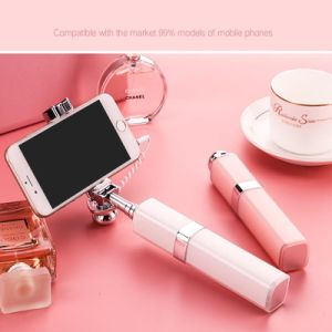 Wholesale Gift Lipstick Portable Selfie Stick pictures & photos