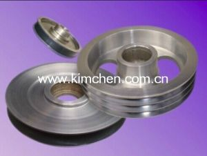 Aluminum High Quality Ceramic Pulley for Cable Wire Industry pictures & photos