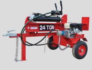 Gas Log Splitter with 6.5HP Engine for Splitting Woods pictures & photos