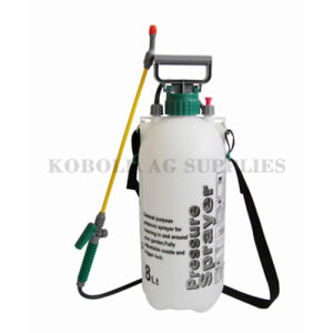8L PE Water Tank Airless Paint Manual Pressure Sprayer pictures & photos