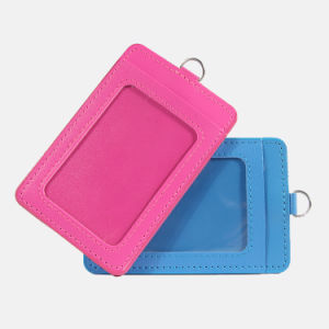 New Products PU Leather Fashion Exhibition Card Holder pictures & photos